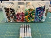 Copic Sketch And Ciao Markers Lot 197 2 Blenders 5 Refills