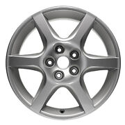 New Set Of 4 Silver Alloy Wheels,rims Fits 2002-2004 Nissan Altima