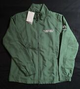 Nwt Pebble Beach Concours Green Windbreaker Jacket Mens M Cutter And Buck