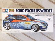Discontinued Rare Tamiya Rc 1/10 Ford Focus Rs Wrc 2002 Model Used