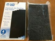 Fette Filter Air Purifier Pre-filters 4-pack Compatible/w Honeywell Hrf-k2 Nwt
