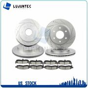 Brake Ceramic Pads And Rotors Front And Rear For 2005-2006 Infiniti Qx56