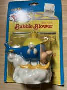 Vintage 1994 Budgie The Little Helicopter Bubbles Bubble Blower Toy Nib Rare