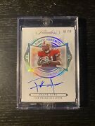 2020-21 Panini Flawless Achievements Autograph Gold /10 Frank Gore 49ers Legend
