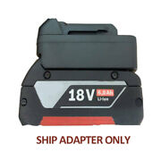 Battery Adapter For Bosch 18v Li-ion Battery Convert To For Makita Tool New