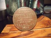 Palmolive Crystal Cocoa Soap Free When You Buy One Cake Medal Copper Chicago Il.