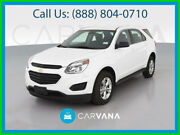 2017 Chevrolet Equinox Ls Sport Utility 4d 4-cyl 2.4 Liter Abs 4-wheel Air Conditioning Alarm System Alloy Wheels Am/fm