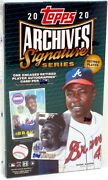 2020 Topps Archives Signature Series Retired Baseball 20 Box Case Blowout Cards