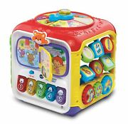 Vtech Sort And Discover Activity Cube Learning Toy For Baby Toddler
