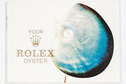 Vintage Rare Collectible 1970's Your Rolex Oyster Booklet 579.07 Out Of Estate
