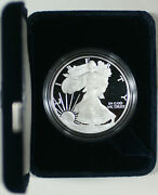 2005-w American Eagle 1 Troy Oz .999 Silver Proof Coin With Ogp And Coa