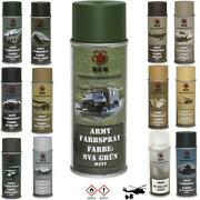 16 Andeuro/ L Armee Patent Armed Forces Spray Cans Spray Solid Armee Army Color