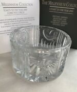 Waterford Crystal Millennium Collection Bottle Coaster Box And Certificate