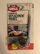 Expert Grill Digital Grilling Thermometer Replacement Probe 2 Pack Rated To 716f