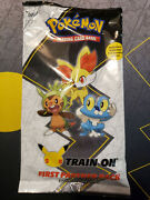 ✅pokemon Kalos First Partner Pack 3 Jumbos + 2 Boosters 25th Anniversary Sealed