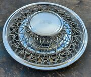 1 Rare Used Oem 1981-1983 Chrysler Imperial 15 Wire Spoke Hubcap Wheel Cover