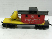 Tyco- Prr Work Caboose W/floodlight 1970and039s