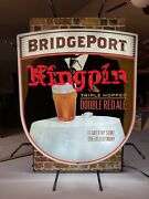 Pick Up Only Bridgeport Brewing King Pin Beer Bar Neon Light Sign