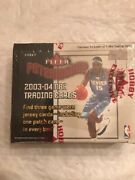 2003-04 Fleer Patch Works Basketball Hobby Box Lebron Rookie Year