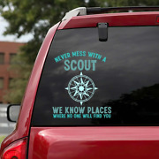 The Funny Compass Quotes 3d Printed Vinyl Car Window Truck Decal