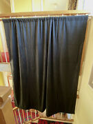 Blackout Curtain/drapes-ideal Home Office/cabins/studios And Theatre. 9 Available.