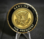 White House Military Officer Presidential Security Challenge Coin Police Law