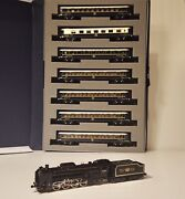 Kato 2016-2 D51 498 Orient Express 1988 Model Train Steam Locomotive With 7 Cars