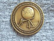 Rare Cia Central Intelligence Challenge Coin Directorate Of Science And Technology
