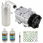For Ford Excursion 2000-2005 Oem Ac Compressor W/ A/c Repair Kit Csw