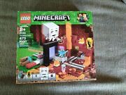 Lego The Nether Portal Minecraft 21143 Factory Sealed Nib