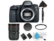 Canon Eos 6d Mark Ii Dslr Camera Body Only Basic Filter Bundle + Bonus Canon E