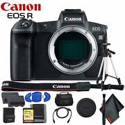Canon Eos R Mirrorless Digital Camera Body Only Includes Extrs Battery Pack M