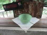 Vtg.rare 1940and039s-jadite -anchor Hocking-fire-king-ware 9 Swril Mixing Bowl 7