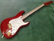 Used Fender Japan Mami Stratocaster Strato Scandal Ming-sing Model With Trial