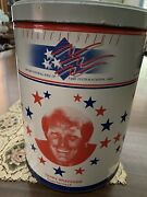 Pro Football Hall Of Fame Festival 1989 Canton Ohio Canister Terry Bradshaw