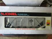 Lionel O Scale 6-16407 Boston And Maine 4-bay Covered Hopper Road 16407