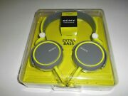 Sony Mdrxb400/grn Extra Bass Over The Head 30mm Driver Headphone, Green New Ob