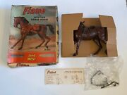1960s Vintage Marx Johnny West Horse Flame For Jane West Great Condition