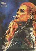 Becky Lynch Sketch Auto /10 Topps Wwe 2020 Undisputed Free Shipping