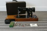 Vintage Singer 201k Sewing Machine With Upgraded Motor And Foot Control