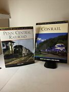 Penn Central Railroad And Conrail Railroad Color History By Lynch, Doherty Hc Dj