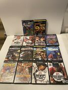 Nintendo Gamecube Games Lot Of 14-mario, Pacman,need For Speed, Sonic, Robotech