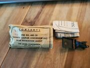 New Vintage Lionel Magnetic Coupler, Unused 480-25 Packet And Instructions