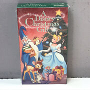 A Disney Christmas Gift Vhs Video Tape 1996 Brand New Factory Sealed Rare Fast