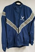 Authentic Us Air Force Physical Training Uniform Jacket Size Small-regular