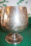 8 Vintage-antique Poole Silver Co Silverplate Marked Epca 831 Wine Cup Goblet