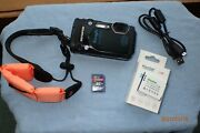 Olympus Stylus Tough Tg-860 16mp Hd 1080p Waterproof Camera Wi-fi Gps Works Good