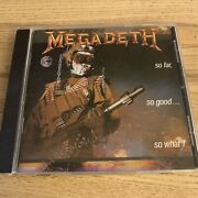 Megadeth So Far So Good So What Cd Signed Autographed By The Band