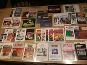 Lot Of Instruction Manuals Atari Sega Genesis And Nintendo System And Zapper Gun