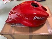 Mint Un-used Gas Tank Red Ducati Monster 821 2018 And Up.
